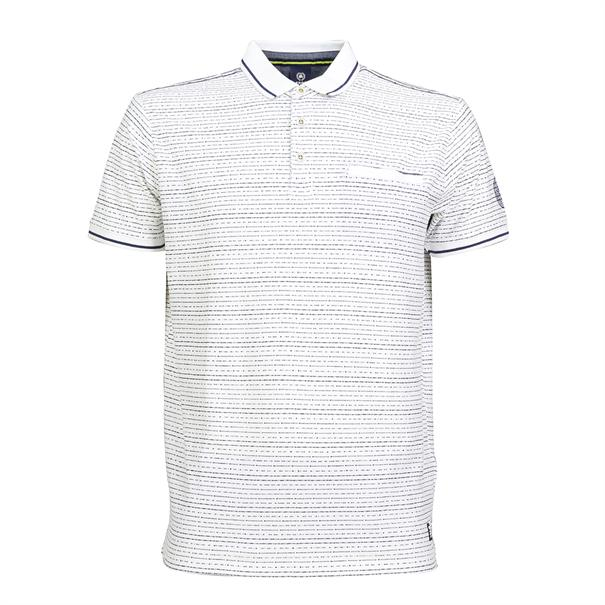 Lerros polo's Regular Fit 2043291 in het Offwhite