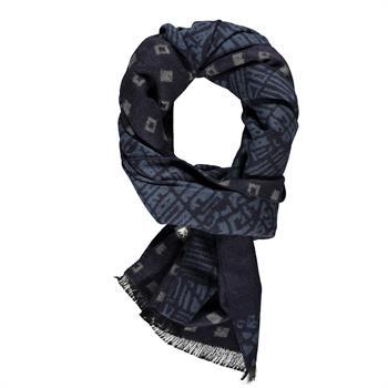 Lerros sjaals 5081011 in het Marine