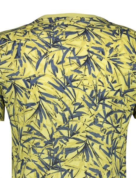Lerros t-shirts 2143062 in het Geel