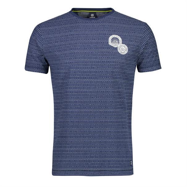 Lerros t-shirts Regular Fit 2043090 in het Licht Blauw