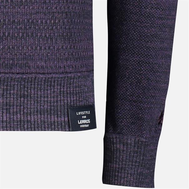 Lerros truien Regular Fit 2985114 in het Paars