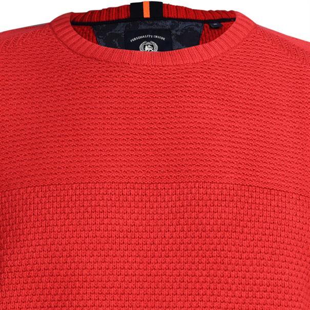 Lerros truien Regular Fit 29n5059 in het Rood