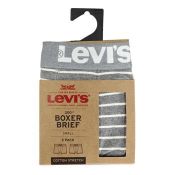 Levi's ondergoed 971001001 in het Grijs Melange
