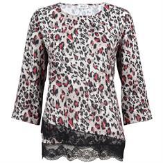 Liu Jo blouse w68-371 in het Licht Bruin