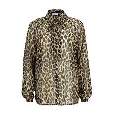 Liu Jo blouse w69-018 in het Licht Bruin