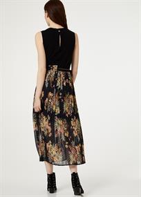 Liu Jo jurk fa0020 in het Zwart