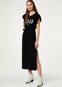 Liu Jo jurk fa0416 in het Zwart