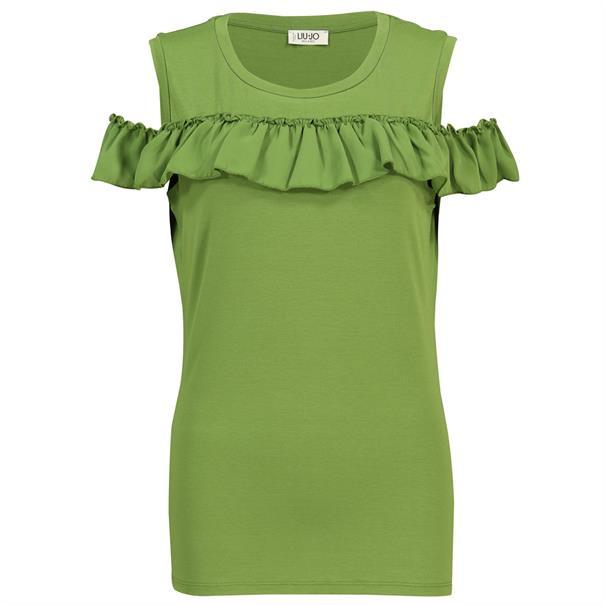 Liu Jo t-shirts f19101 in het Groen