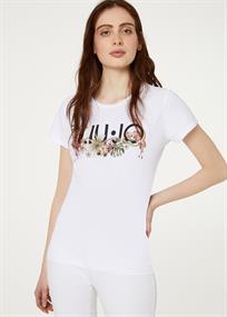 Liu Jo t-shirts fa0422 in het Wit