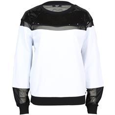 Liu Jo truien t19002 in het Wit/Zwart