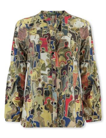 Lizzy & Coco blouse dilla-pr in het Groen