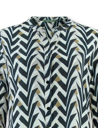Lizzy & Coco blouse dilla-pr in het Zwart / Wit