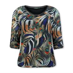 Lizzy & Coco blouse salmo in het Inkt