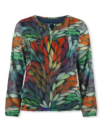 Lizzy & Coco blouse Stip in het Multicolor