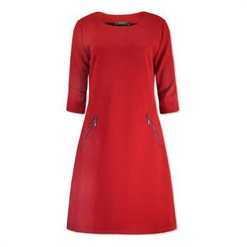 Lizzy & Coco jurk caat-uni in het Rood
