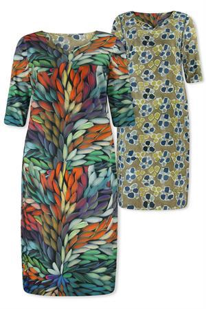 Lizzy & Coco jurk callas in het Multicolor