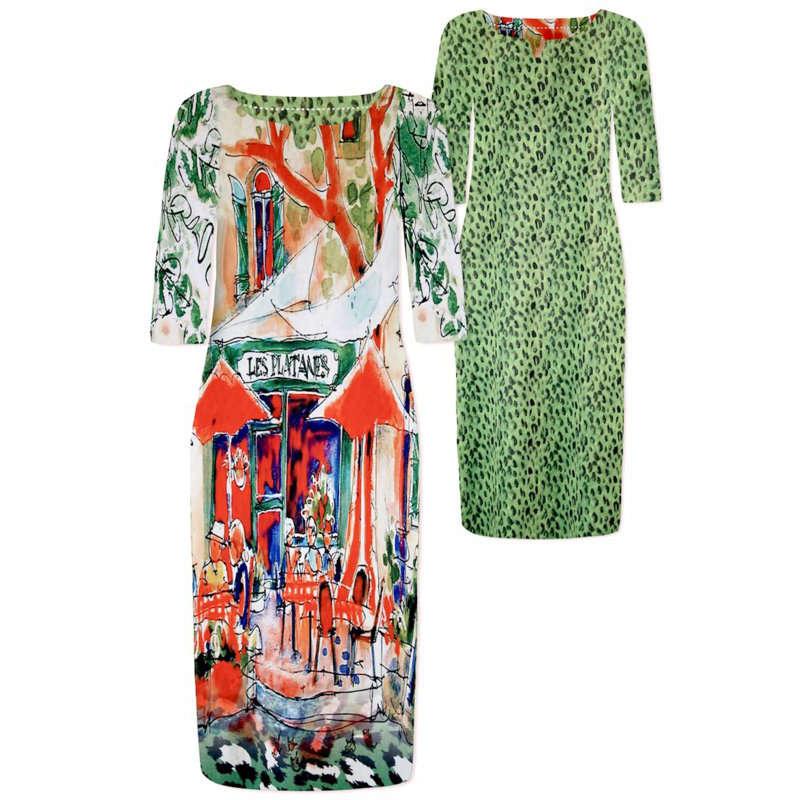 Lizzy & Coco jurk craft in het Licht Groen