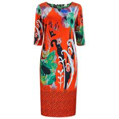 Lizzy & Coco jurk craft in het Rood