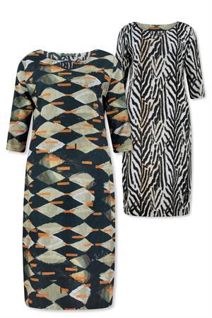 Lizzy & Coco jurk cyp in het Roest