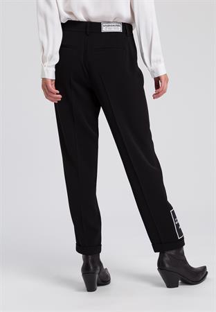 Marc Aurel 7/8ste broek Regular Fit 1465-2008-92875 in het Zwart