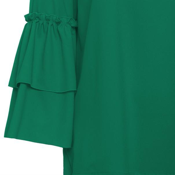 Marc Aurel blouse 61912000-24103 in het Groen