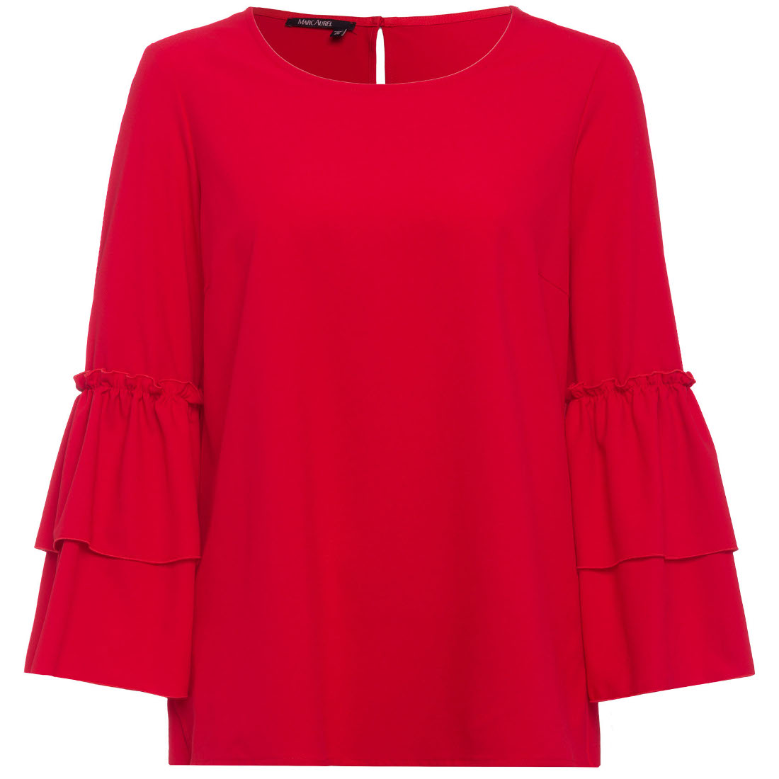 Smit Mode:  Marc Aurel blouse 61912000 24103 in het Rood