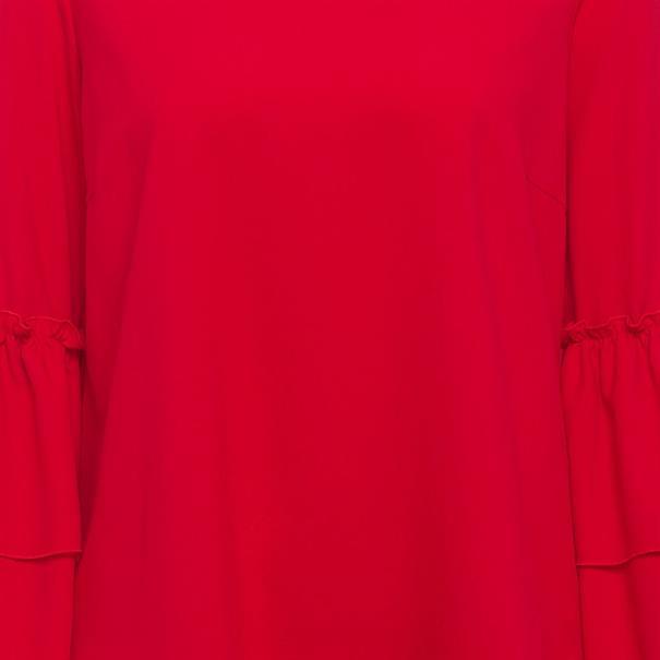 Marc Aurel blouse 61912000-24103 in het Rood