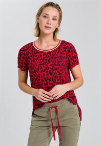 Marc Aurel blouse 6221-1002-92797 in het Rood