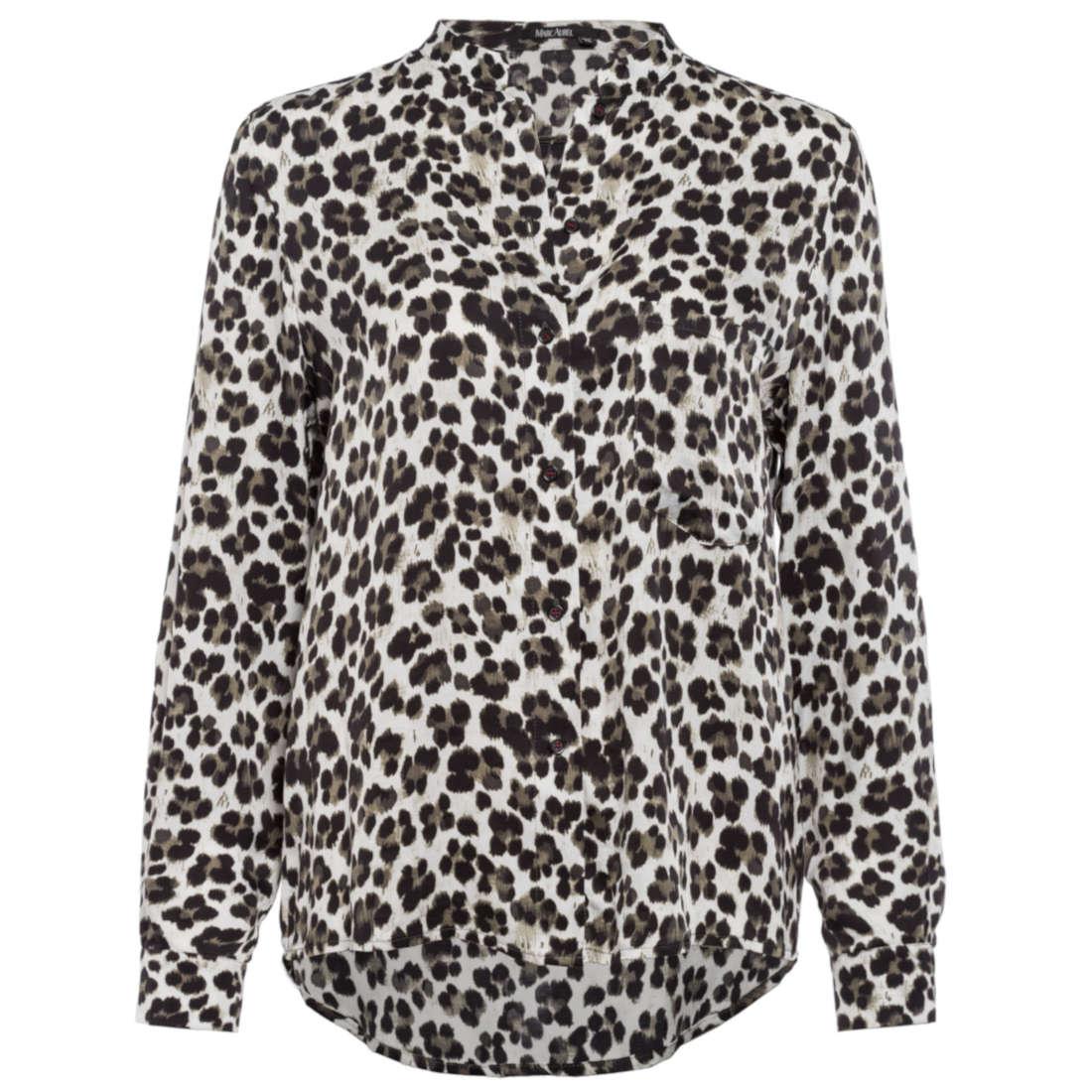 Smit Mode: Marc Aurel blouse 62851000 92759 in het Kaky