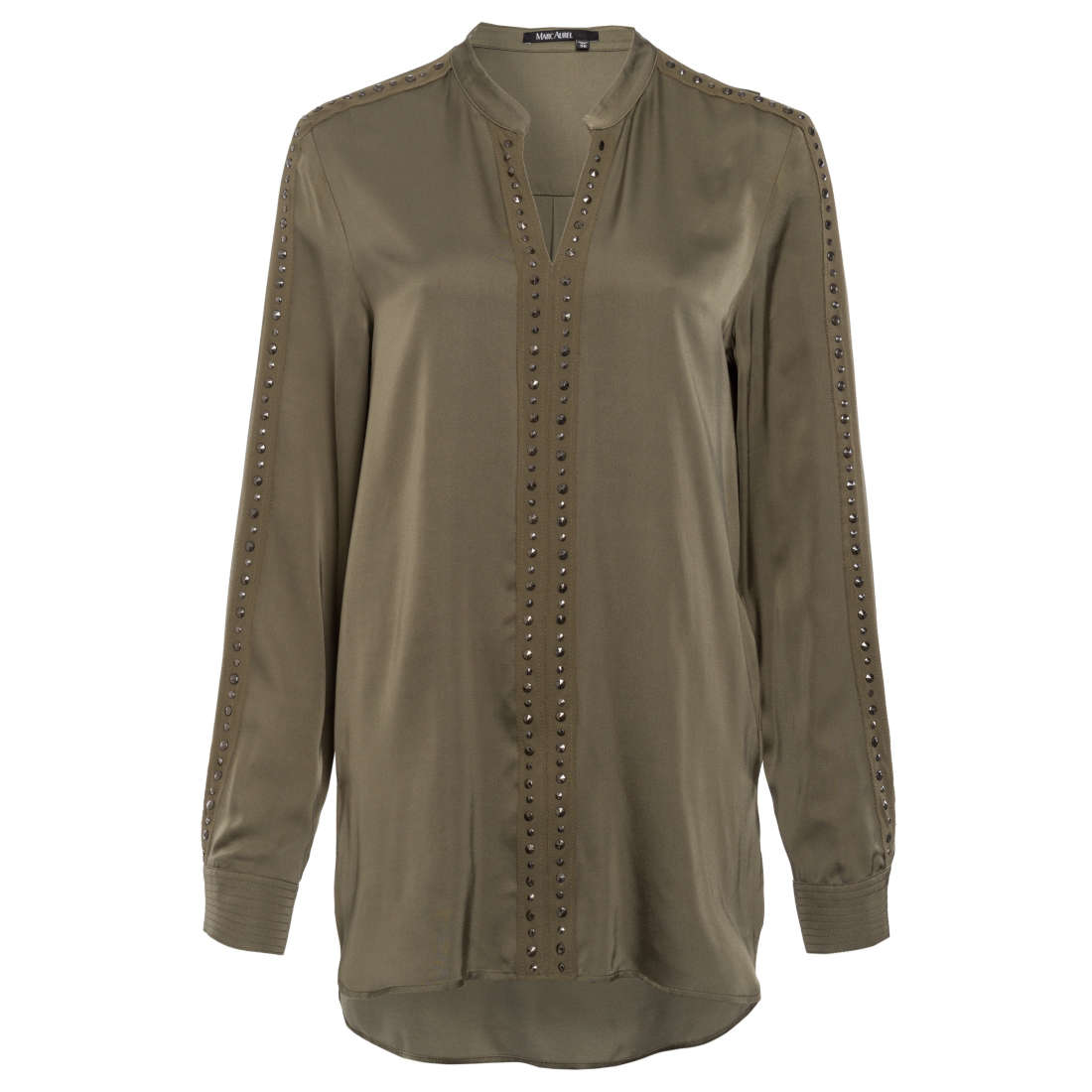 Marc Aurel blouse 63161000-92638 in het Kaky