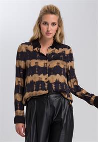 Marc Aurel blouse 6330-1003-92920 in het Zwart / Wit