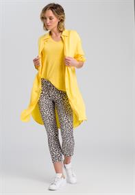 Marc Aurel blouse 6345-1000-92841 in het Geel