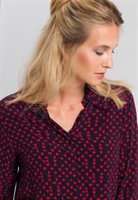 Marc Aurel blouse 6409-1000-24460 in het Donker Blauw