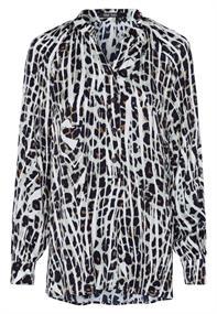 Marc Aurel blouse 6418-1000-92954 in het Groen