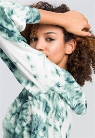 Marc Aurel blouse 6418-1000-92957 in het Mint Groen