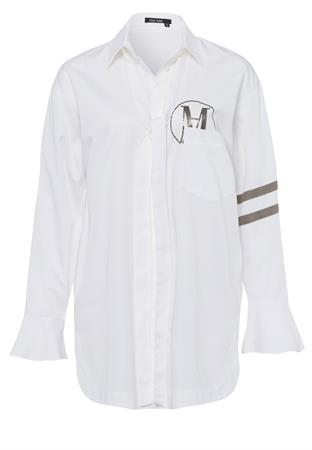 Marc Aurel blouse 6448-1000-93066 in het Wit