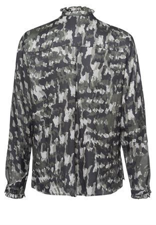 Marc Aurel blouse 6452-1000-93038 in het Zilver
