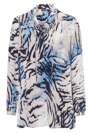 Marc Aurel blouse 6456-1000-93034 in het Ecru