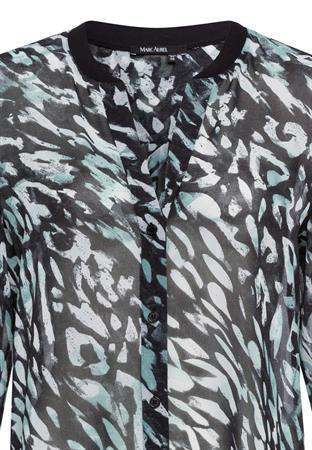 Marc Aurel blouse 6470-1000-93062 in het Zwart