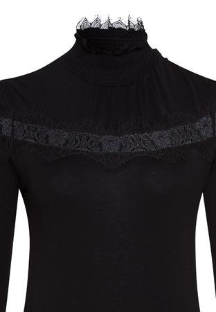 Marc Aurel blouse 7209-7000-73414 in het Zwart
