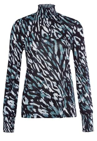 Marc Aurel blouse 7212-7000-73410 in het Groen