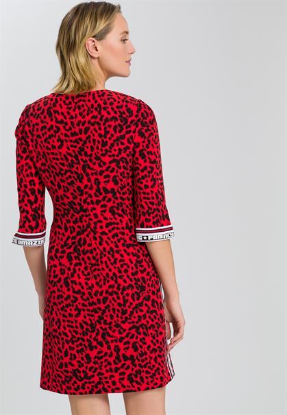 Marc Aurel jurk 6645-2000-92793 in het Rood