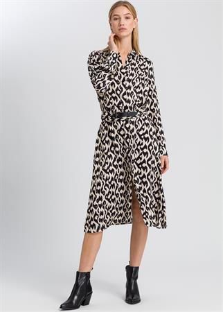 Marc Aurel jurk 6722-1000-92956 in het Zwart / Wit