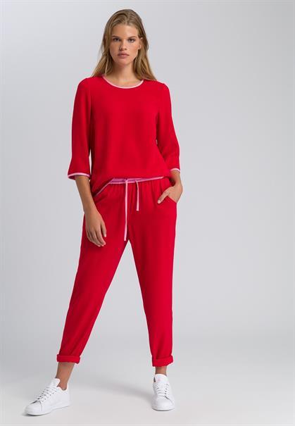 Marc Aurel pantalons 11891009-92626 in het Rood