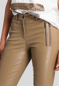 Marc Aurel pantalons 1435-2005-92976 in het Taupe