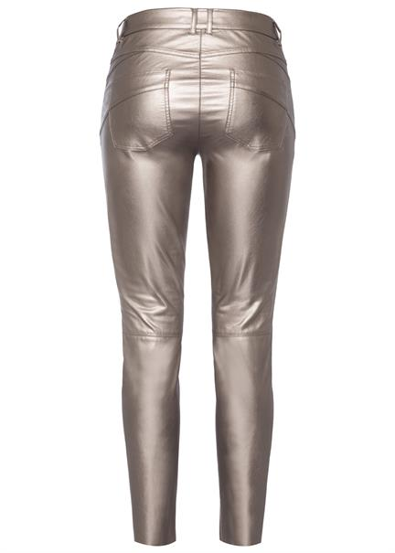 Marc Aurel pantalons 1435-2006-92699 in het Taupe