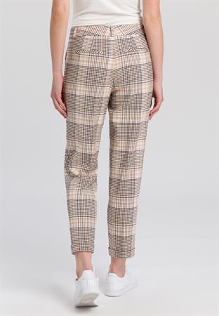 Marc Aurel pantalons Slim Fit 1532-2000-24449 in het Beige