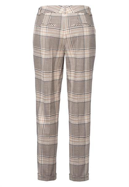Marc Aurel pantalons Slim Fit 1532-2000-24449 in het Beige