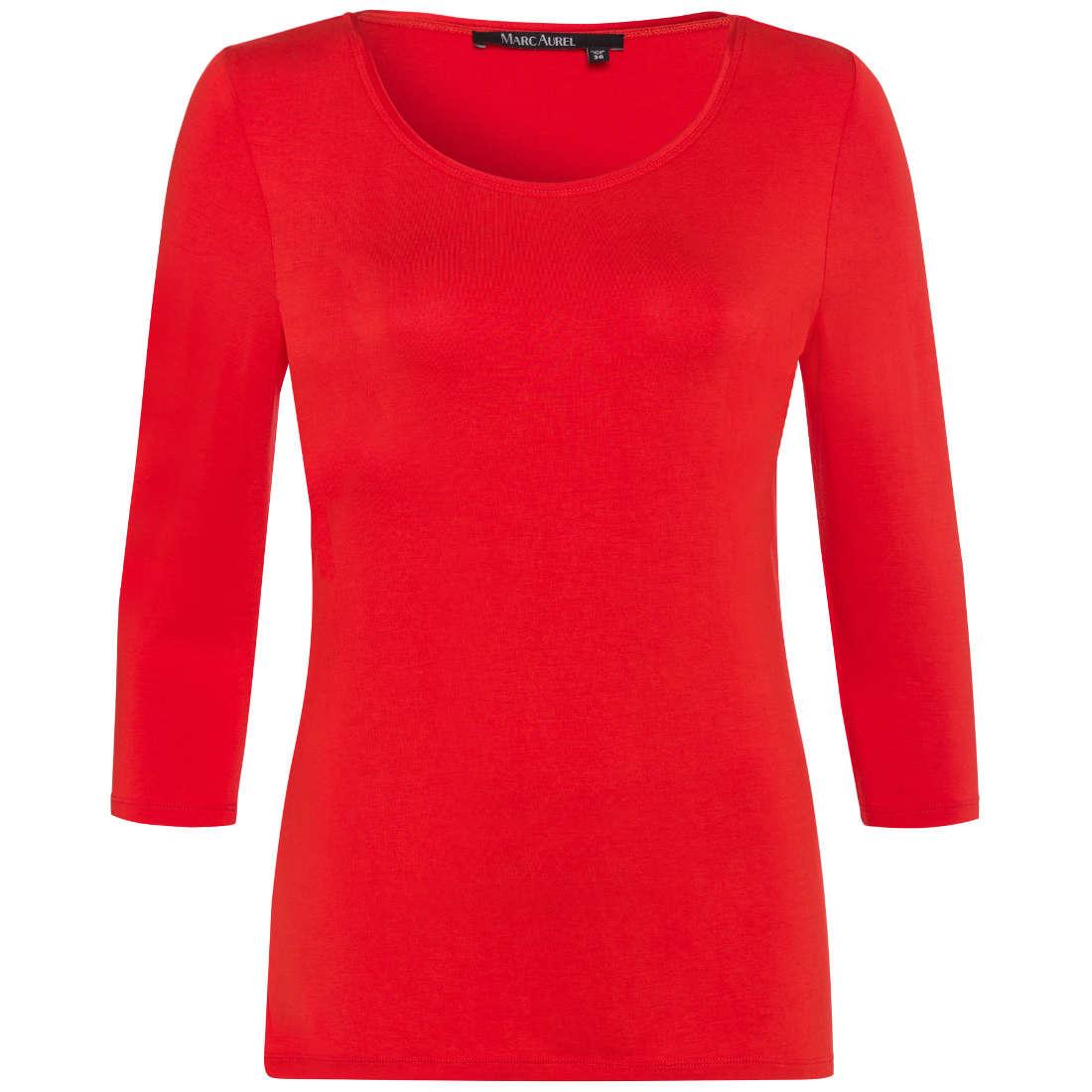 Marc Aurel t-shirt 76807000-72842 in het Rood