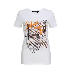 Marc Aurel t-shirts 7024-7000-73176 in het Roest